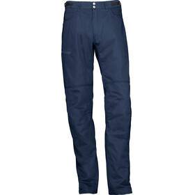 Norrøna M's Svalbard Mid Cotton Pants Indigo Night